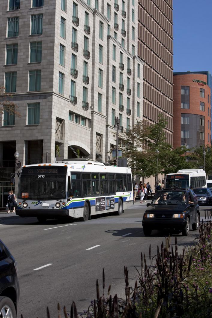 Autobus en ville
