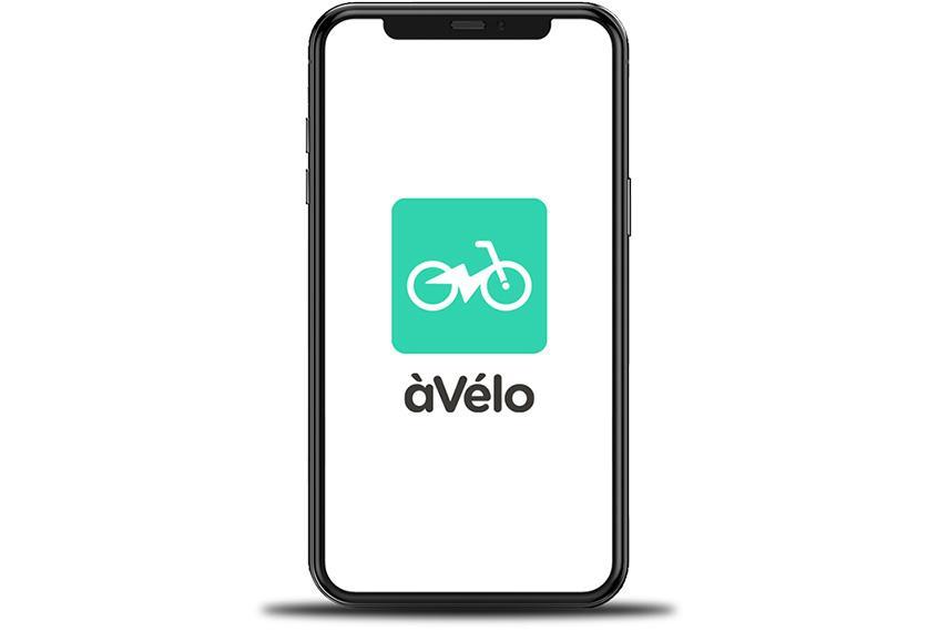 àVélo - application