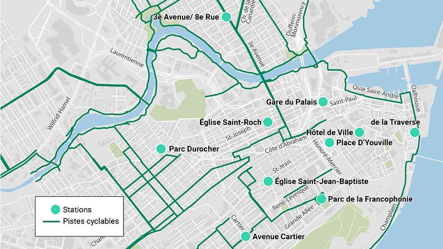 aVelo - carte des stations