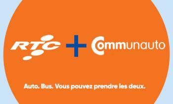 RTC + Communauto. Auto. Bus. Vous pouvez prendre les deux.