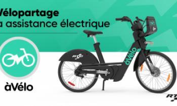 àVélo - service de vélopartage à assistance électrique